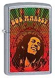 Zippo Bob Street Chrome Marley Lighter - Mechero, Color Street Chrome