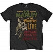 camiseta bob marley hombre