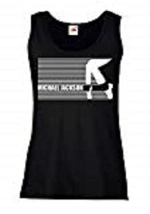 camiseta tirantas michael jackson mujer