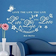 cita bob marley azul