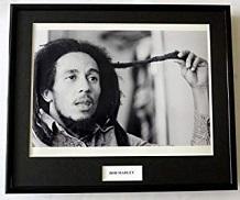 foto bob marley blanco y negro enmarcada