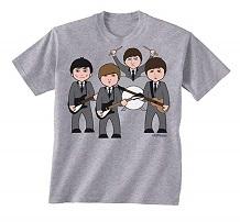 camiseta beatles niños