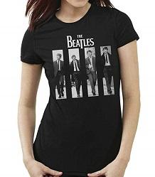 camiseta beatles mujer