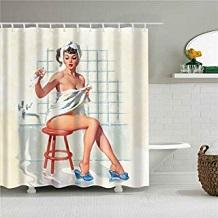 cortina baño marilyn