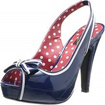 zapato vintage descotado