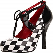 zapato vintage cuadros