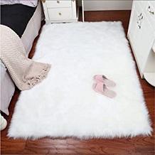 decoracion marilyn monroe alfombra borrego habitacion