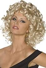 disfraz sandy grease peluca